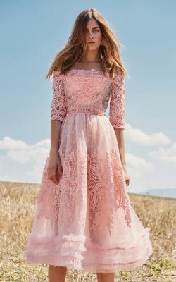 Платье с кружевом 2018 фото 1