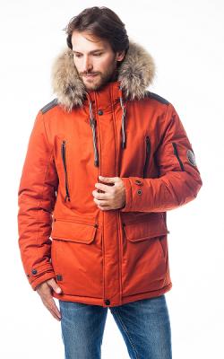 Мужские зимние куртки с капюшоном фото 1
