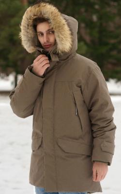 Мужские зимние куртки с капюшоном фото 2