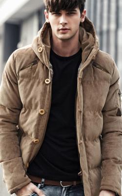 Мужские зимние куртки с капюшоном фото 3