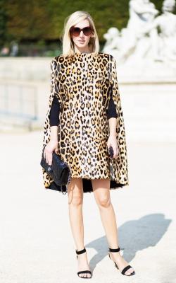 Платье с леопардовым принтом 2018 фото 3