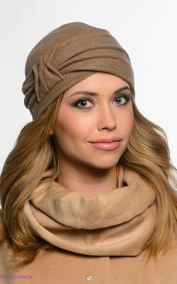 шерстяная женская шапка фото 4