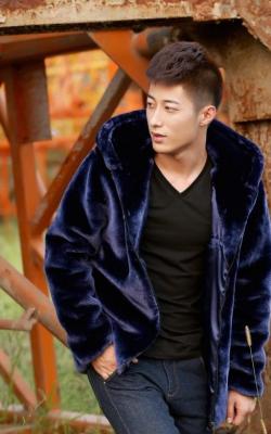 мужская меховая куртка1