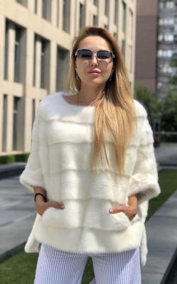Меховой свитер фото 3