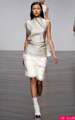 Меховая юбка фото 2
