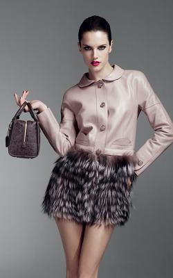 Меховая юбка фото 3