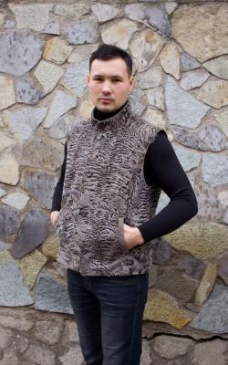 меховой жилет для мужчин9