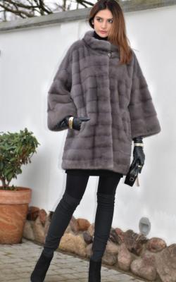 Модные цвета норковых шуб 2018 фото обзор моделей3