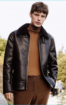 Модные кожаные куртки фото 3