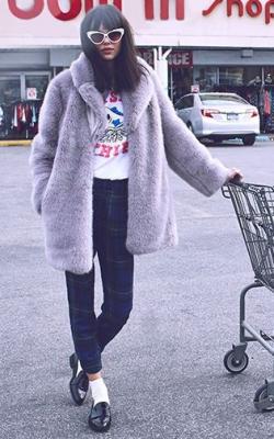 модные луки с шубой18