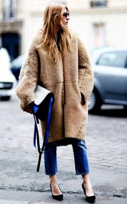 модные луки с шубой57