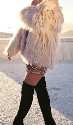 модные шубы 2017 - 3