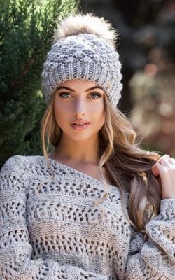 молодежные шапки зима 2017-2018 фото 3
