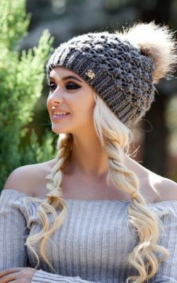 молодежные шапки зима 2017-2018