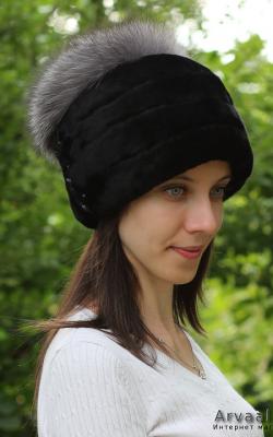 шапка из мутона фото 3