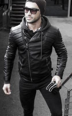 Мужская кожаная куртка фото 11