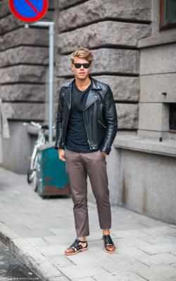 Мужские кожаные куртки 2018-2019 фото 2