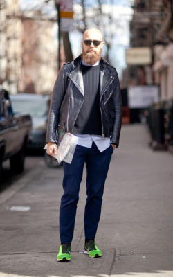 Мужские кожаные куртки 2018-2019 фото 3