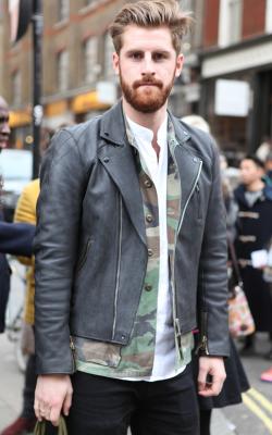 Мужские кожаные куртки 2018-2019 фото 4