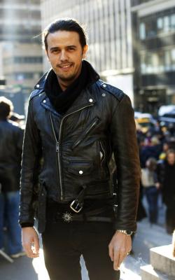 Мужские кожаные куртки 2018-2019 фото 5