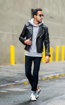Мужские кожаные куртки 2018-2019 фото 6