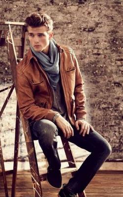 Мужские кожаные куртки 2018-2019 фото 10