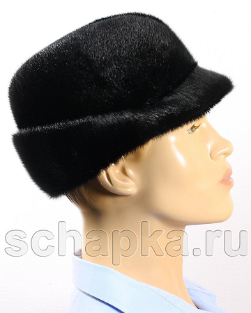 Шляпа норковая для мужчин 3