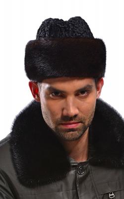 Шляпа норковая для мужчин 2