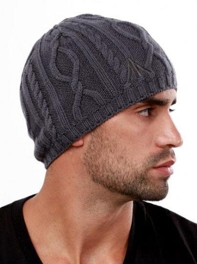 узоры вязания мужских шапок спицами с техникой и схемами моя шубка