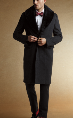 Мужское пальто честерфилд фото 1