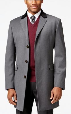 Мужское пальто честерфилд фото 3