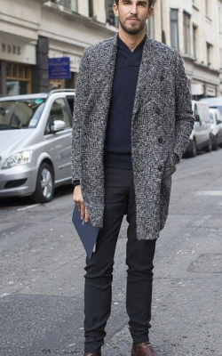 Мужское пальто фото 2