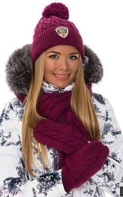 шапка шарф перчатки 3