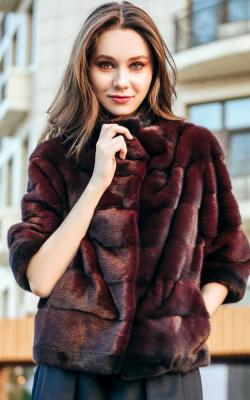Модели курток из норки 2018