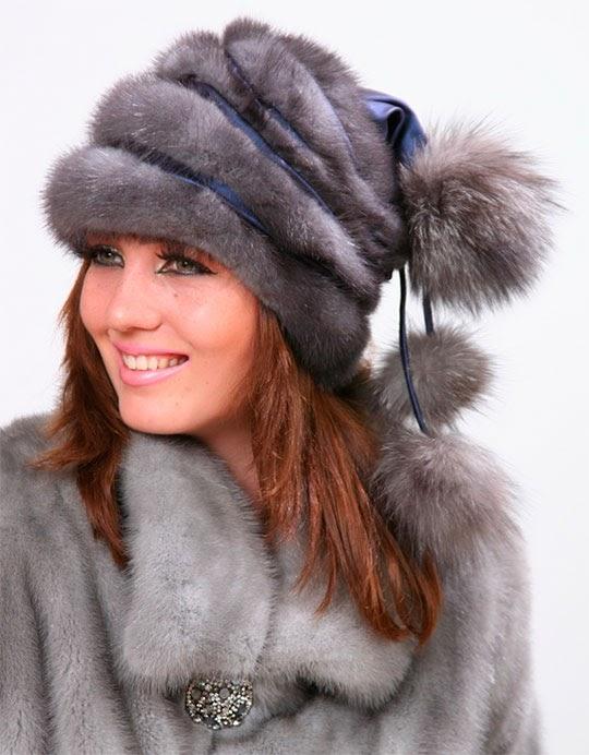 норковая шапка 2