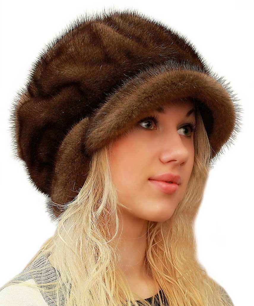 норковая шапка 3