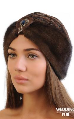 норковая шапка 4