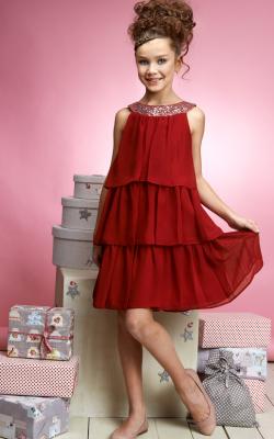 Новогоднее платье для девочки от 10 до 12 лет фото 2