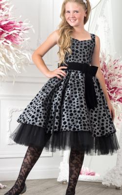 Новогоднее платье для девочки от 10 до 12 лет фото 3