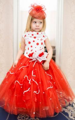 Новогоднее платье для девочки 3, 4, 5 лет фото 2