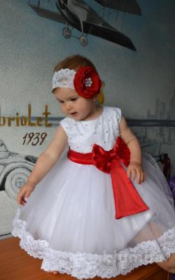 Новогоднее платье для девочки до 3 лет фото 2