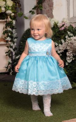 Новогоднее платье для девочки до 3 лет фото 3