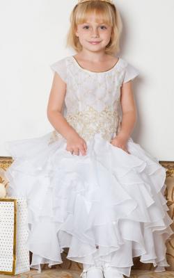 Новогоднее платье для девочки от 6 до 9 лет фото 2