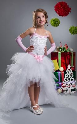 Новогоднее платье для девочки от 6 до 9 лет фото 3