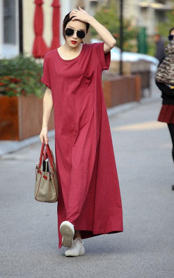 Платье оверсайз фото 6