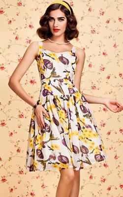 Платья с фруктами и овощами 2018 фото 3