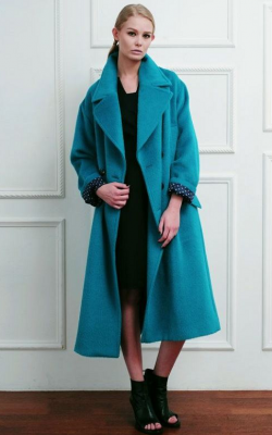женское пальто из альпаки фото 4