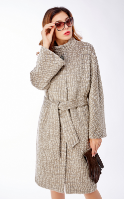 женское пальто из альпаки фото 6