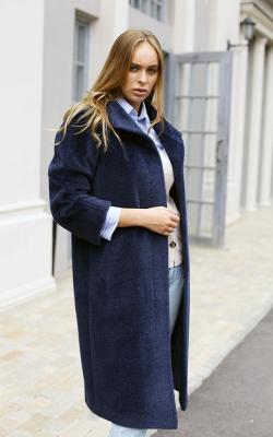 женское пальто из альпаки фото 7
