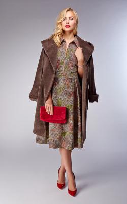 женское пальто из альпаки фото 8